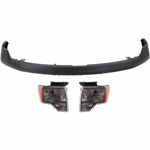 Front New Kit Auto Body Repair For Truck Ford F 150 F150 2009 2014
