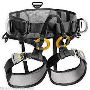 Tree Climbing Saddle Petzl s Sequoia replaceable Floating Bridge only Weighs 3lb