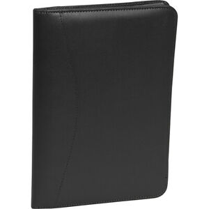 Royce Leather Jr Writing Padfolio Black Business Accessorie New