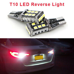 2x High Power T10 T15 921 194 Canbus Led Bulb For Tail Backup Reverse Lights Us
