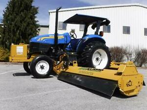New Holland Tb100 Tractor Alamo Interstater 20 Ft Cut Wide Area Flail Mower