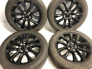 20 Oem Jeep Grand Cherokee 9168 Wheels And Tires Great Shape Set