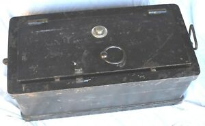 Mosler 1880 S U S Calvary Combination Payroll Strong Box Safe