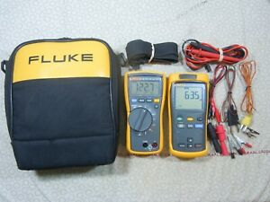 Fluke 116 51 Ii Kit With Accessories Fluke Case 57993 57994