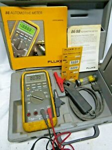Fluke 88 Automotive Meter Used In Working Condition Fast Shipping
