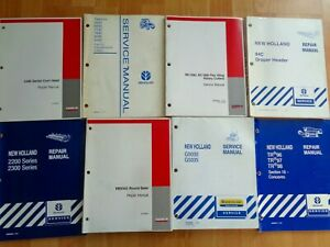 16 Case Ih New Holland Service Repair Operators Manuals Baler Mower Combine Oem