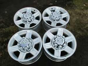 17 Dodge Ram 2500 3500 Factory Oem Polished Alloy Wheels Rims 2384 03 17