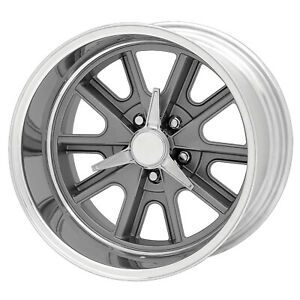 4 New 15x8 American Racing Shelby Cobra Gray Wheel rim 5x114 3 15 8 5 114 3 Et0