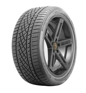 1 New Continental Dws06 92y 50k mile Tire 2254018 225 40 18 22540r18