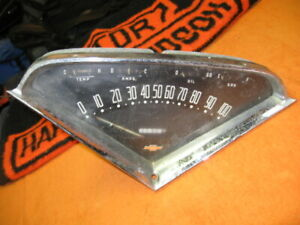 1955 1956 1957 1958 1959 Chevy Truck Speedometer Gauge Cluster Dash Assembly Oem