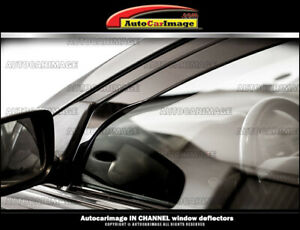Jeep Commander 06 07 08 09 10 Window Deflectors Window Visors Rain Guards