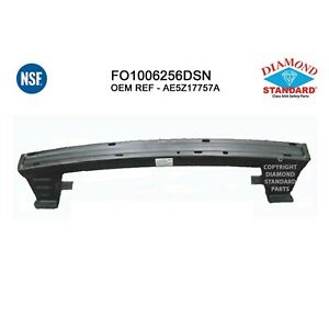 Fits 2010 2012 Ford Fusion Front Bumper Cover Reinforcement 107 1106 Nsf