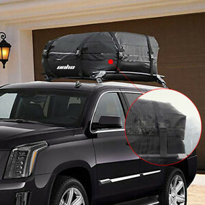 Weather Resistant Car Van Suv Roof Top Cargo Rack Carrier Soft Sided Travel Bag