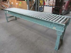 Interlake Roller Conveyor 120 X 25 W Legs T75006