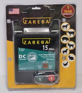 Zareba Electric Fence Charger 15 miles Wire Fencing Capacity Battery Operated