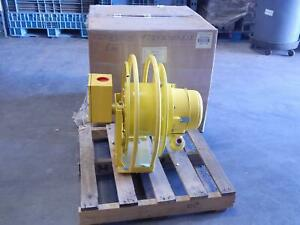 Aero motive 11641630 3g1l Electric Cable Reel W Gnd J box Andratch