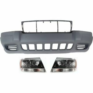 Front New Kit Auto Body Repair For Jeep Grand Cherokee 1999 2003