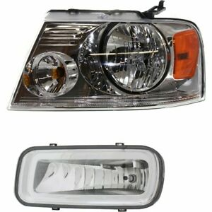 Left New Auto Light Kit For Truck Driver Side Lh Hand Ford F 150 F150 Mark Lt 06