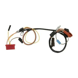 Alternator Harness 1973 Mustang With Gauges 1970 Amp