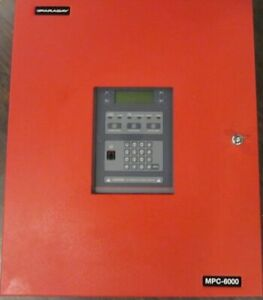 Faraday Mpc 6000 Fire Alarm Panel W Mpc6 mb2 Mpc db2 Fdact Fdlc