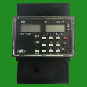 Muller Sc 28 21 Din Rail Wall Mount Digital Timer 16a 250v Yearly Programmable