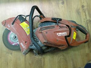 ri4 Hilti Dsh 700 x 14 Gas Powered Concrete Cut Off Chop Saw