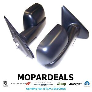 Dodge Ram Truck 2002 2009 Mopar Power Trailer Tow Towing Mirrors Oem Accessory