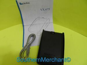 Verifone Vx675 Wireless Full Featured Base New