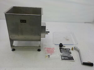Weston 36 2001 w Stainless Steel Meat Mixer 44 pound Capacity
