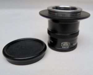 Carl Zeiss 100mm 1 6 3 Microscope camera Lens Sn 2242726 Free Shipping