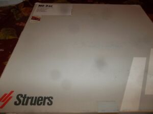 New Struers Md dac 300 Mm 40500073 5pcs Fast Shipping