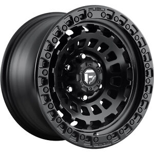 17x9 Black Fuel Zephyr D633 5x5 12 Wheels Deegan 38 At 285 70 17 Tires