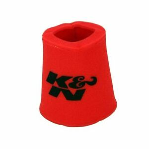 K N 25 0810 Red Oiled Foam Pre Cleaner Filter Wrap For Your Re 0810 Filter
