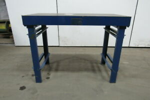48 x24 x36 Cast Iron Fabrication Layout Welding Table Work Bench Webbed Design