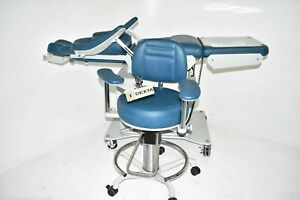Dexta Surgical Dental Furniture Chair W Matching Stool For Operatory Exams