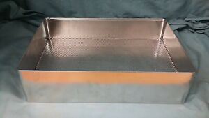 Sterilization Tray Basket 38x26x7cm Surgical Medical Instrument Dental Tattoo Or