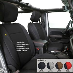 2018 2020 Jeep Wrangler Unlimited Jl Custom Neoprene Seat Covers Front