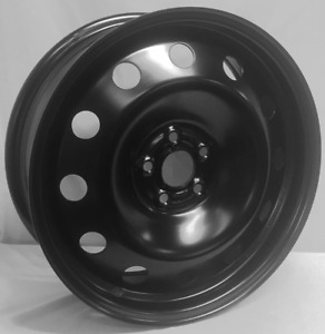 New 17 Inch Black Steel Wheel Rim Fits Subaru 5x100mm 175100m