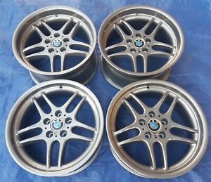Bmw E38 E34 E31 Oem Mpar M Parallel 18x9 5 8 Style 37 Forged Graphite Wheels Rim