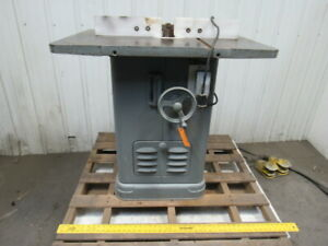 Rockwell Delta Heavy Duty Wood Shaper 115v 1 Hp 1 Ph Single Phase