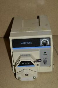 Millipore Corp Xx8200115 6 600 Peristaltic Pump W Xx80el004 Head
