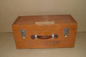 Leeds Northrup Vintage Galvanometer In Wood Case vb