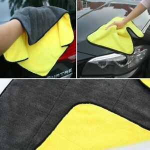 Larger Car Wash Microfiber Towel Cleaning Drying Cloth Hemming Super Absorbent
