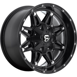 17x9 Black Fuel Hostage 5x5 5x135 12 Rims Trail Blade At Tires
