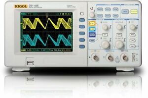 Rigol Ds1102e Digital Oscilloscopes Bandwidth 100 Mhz Channels 2