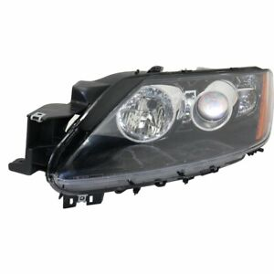 Halogen Headlight For 2012 Mazda Cx 7 Left