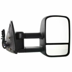 Power Towing Mirror For 2003 2006 Chevy Silverado 2500 Hd Right Manual Folding