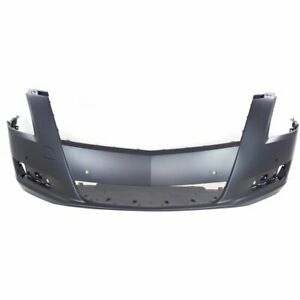 Front Bumper Cover For 2013 2017 Cadillac Xts W Drl pdc Sensor Holes Primed