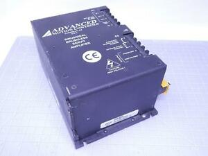 Advanced Motion Controls 21795 0001 Sinusoidal Brushless Servo Amplifier 270 Vac