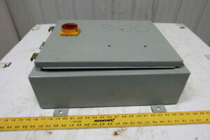 Hoffman A162006lp 16 X 20 X 6 Electrical Enclosure Type 12 13 W Extras